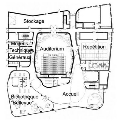 Les plans de la maison des arts maison des arts for La maison de la bibliotheque