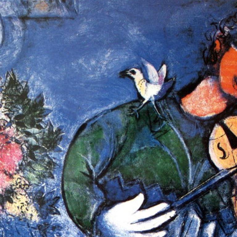 Peinture de Chagall