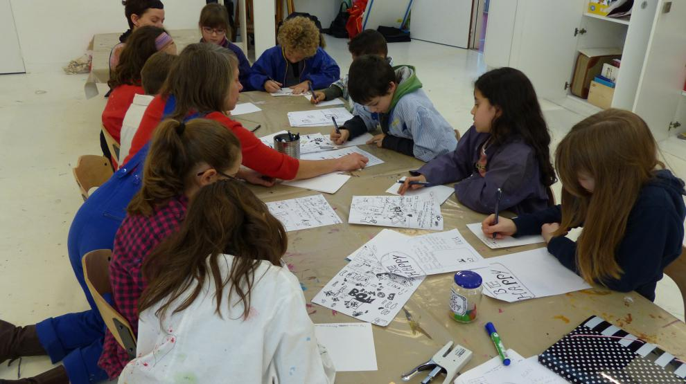Un atelier Art & english