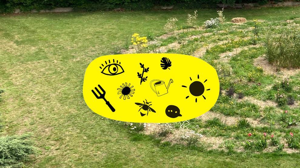 Le jardin Reflets - Ecos