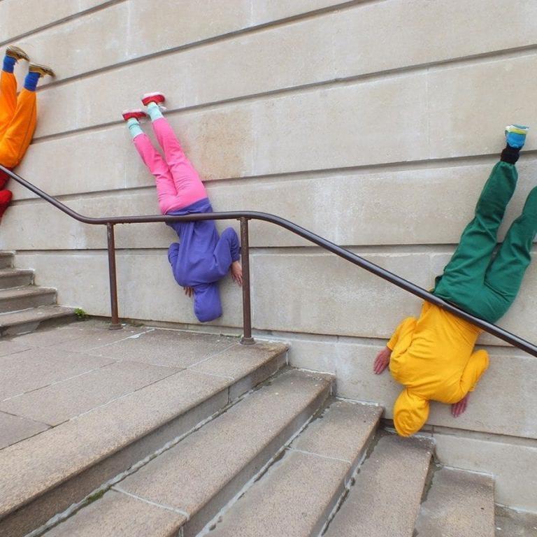 « Bodies in Urban Spaces », Willi Dorner Photo : Lisa Rastl