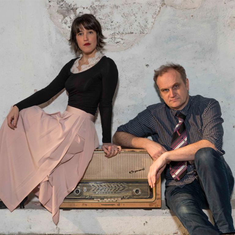 Chloé Cailleton et Guillaume Hazebrouck
