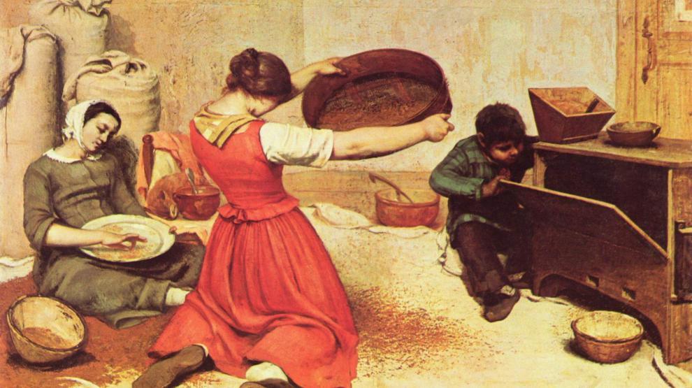 Le Paysan Dans La Peinture Du 19e Siècle Maison Des Arts