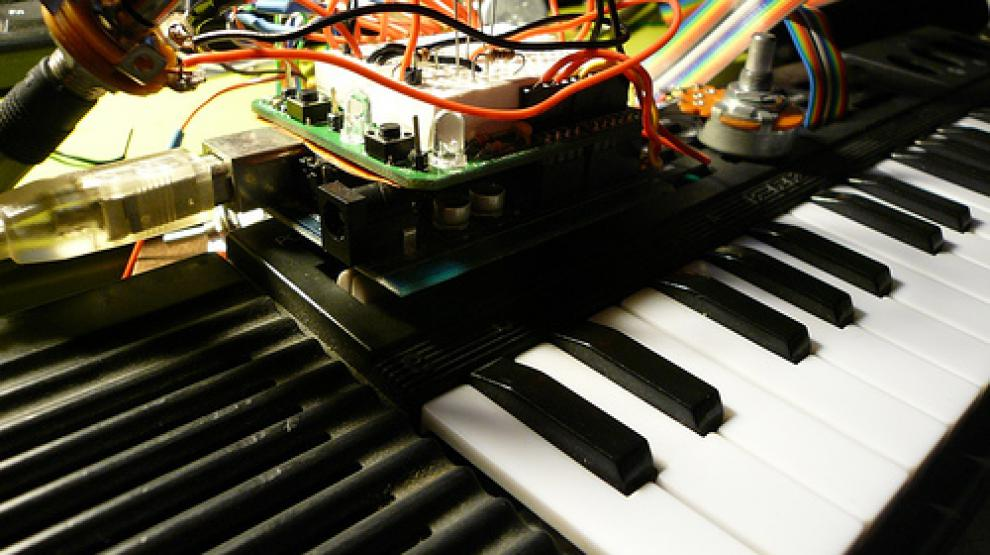 Stage Paysage sonore et Arduino