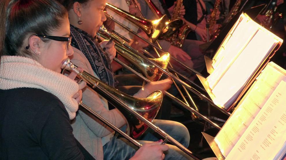 Elèves CHAM trombone